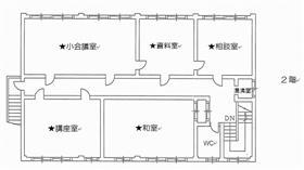 3.長与公民館平面図2