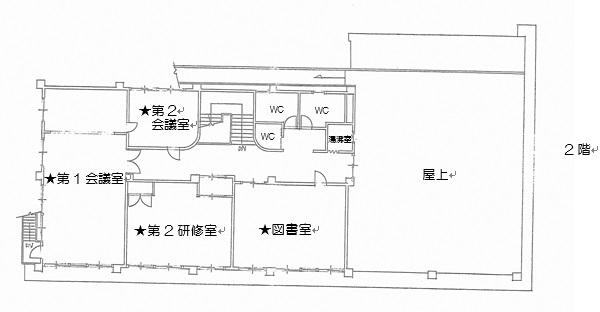 5.上長与公民館 c.●平面図2